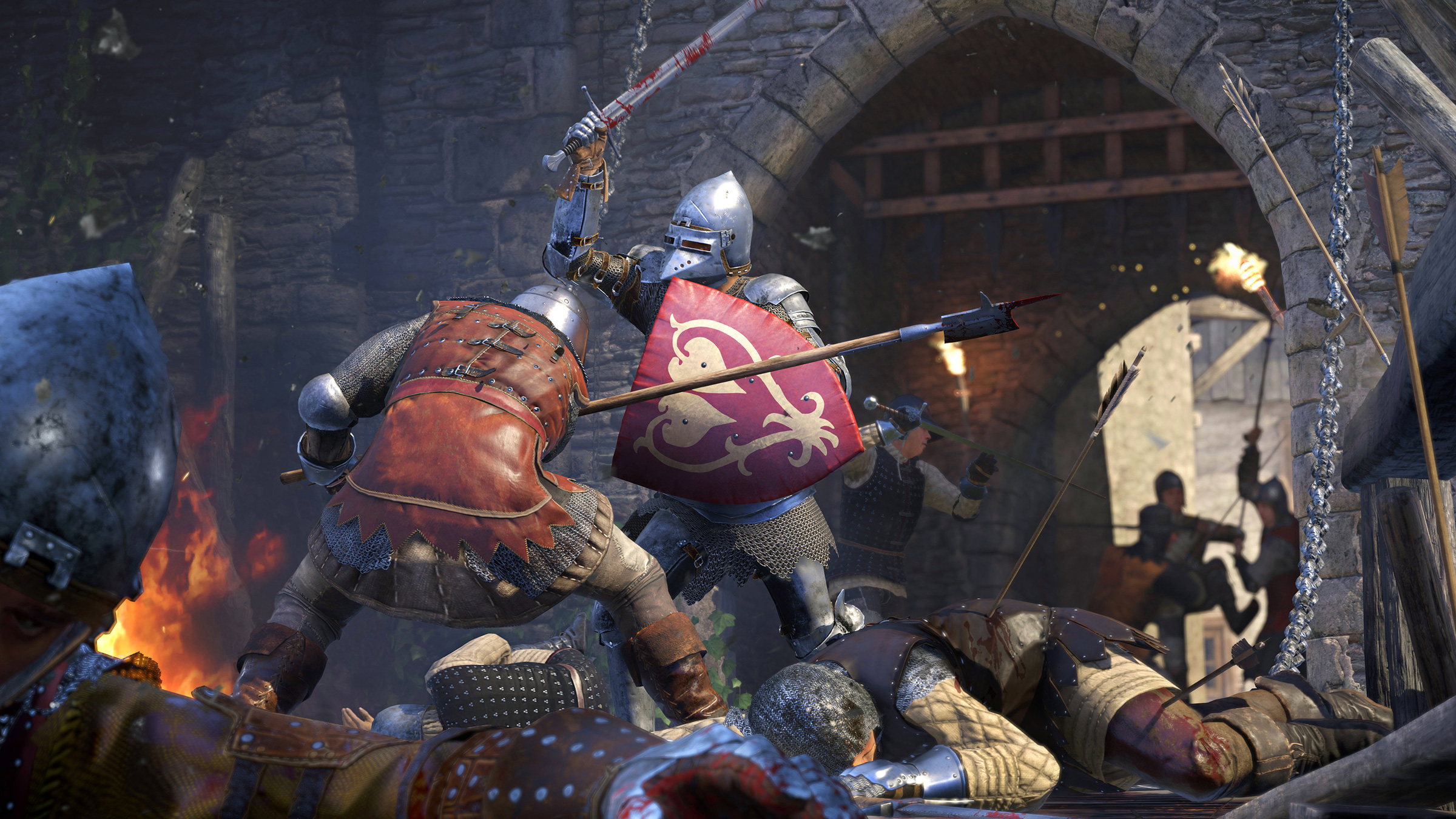 bitva rytířů ve hře Kingdom Come: Deliverance