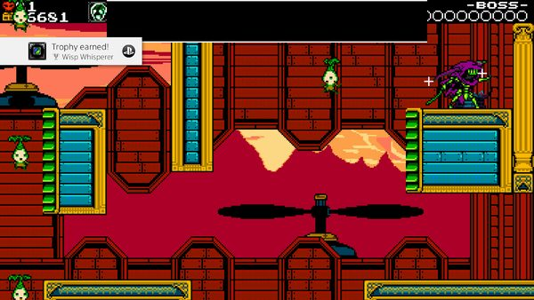 Screenshot ze hry Shovel Knight